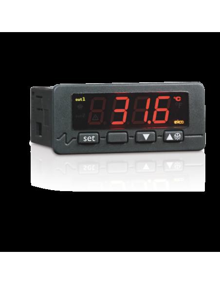Dispositif de contrôle pour vitrines chauffées