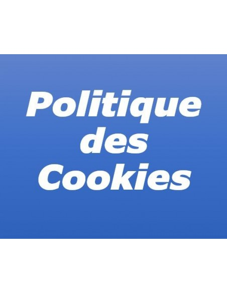 Politique des cookies