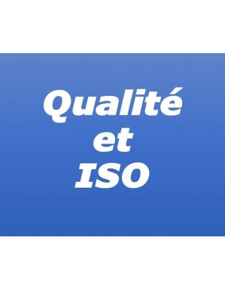 Charte qualité et ISO